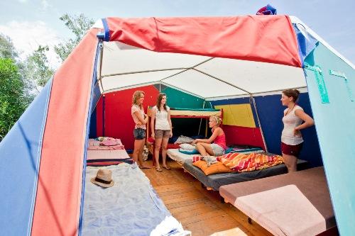 Komfort und Premium Zelte | VOYAGE Gruppenreisen